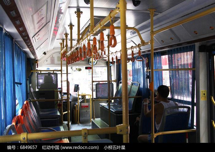 公交车内景图片,高清大图_交通工具素材
