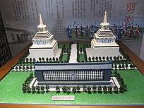 古建筑模型图片