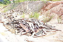 木板废弃材料