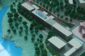 莞工松山湖校区学生活动中心模型