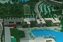莞工松山湖校区学术交流中心模型