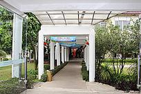 岭南佳园度假酒店走廊
