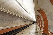 圣彼得堡老地铁隧道