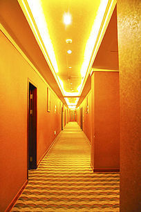 宾馆酒店房间走廊走道