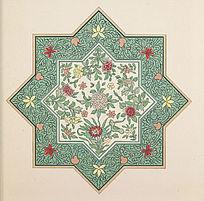 传统纹样 花卉装饰图案
