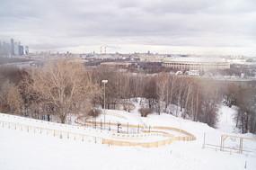 俄罗斯大学前滑雪道