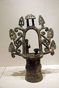 汉代绿釉陶井