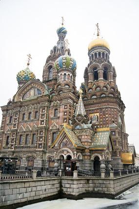 基督复活教堂建筑风光