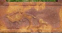 蒙古族抽象图案雕刻