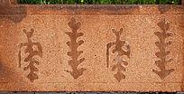蒙古族风格图案雕刻艺术