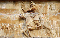 蒙古族先人海都·汗浮雕