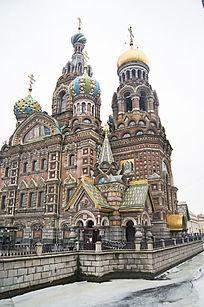 圣彼得堡基督复活教堂