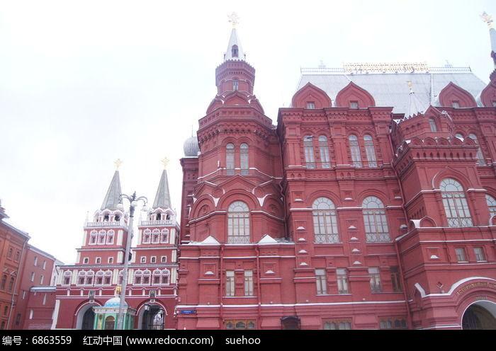红砖西方建筑博物馆