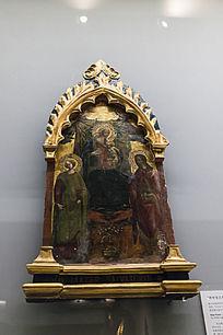 救世主之母圣坛木版画