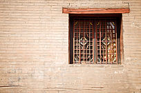 平遥客栈古老窗户