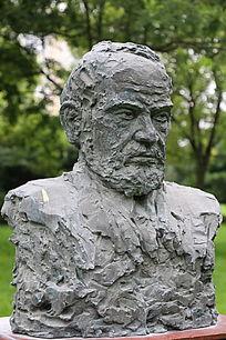 铜雕奥地利科学家佛洛伊德