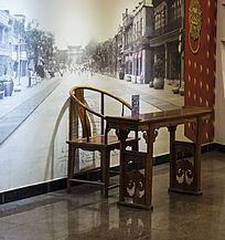 复古家居桌椅