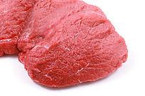 有机肉类特写