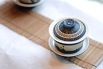 传统工艺竹编茶碗