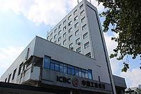 潍坊东风街工商银行摄影图