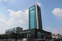 潍坊国际金融大酒店摄影图