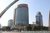 潍坊华夏银行摄影图