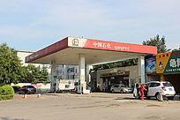 潍坊加油站摄影图
