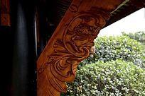 屋檐中式雕花