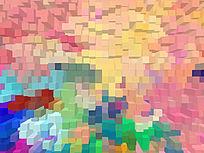床头背景墙 抽象艺术 现代简约