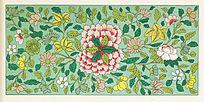 传统花卉纹样 花卉图案
