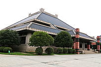 湖北博物馆展厅外景