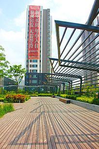 潍坊城市建筑标志摄影