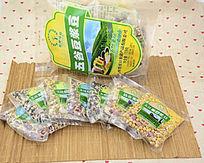 五谷豆浆豆外包装与内包装