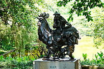 传统文化雕像