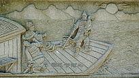 古老故事石壁画