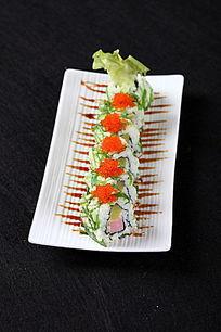 海菜火腿肠寿司