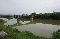 江河大桥风景图片