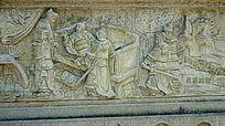 神话故事浮雕壁画