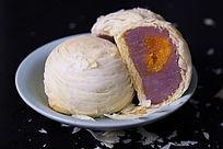 酥皮芋头月饼 布景