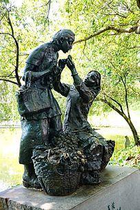 孝人物雕塑