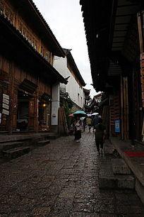 古城石板路