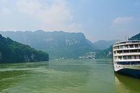 美丽的江河风景