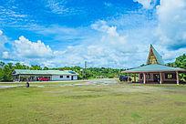 帕劳小镇的风景