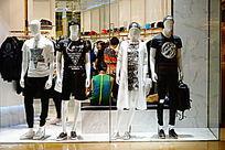时装店展示