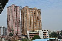 城市高楼大夏景色图片