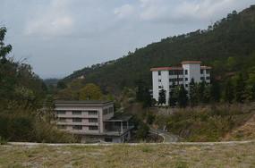 大山里的别墅风景图片