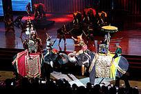 泰国东巴乐园民族战争表演