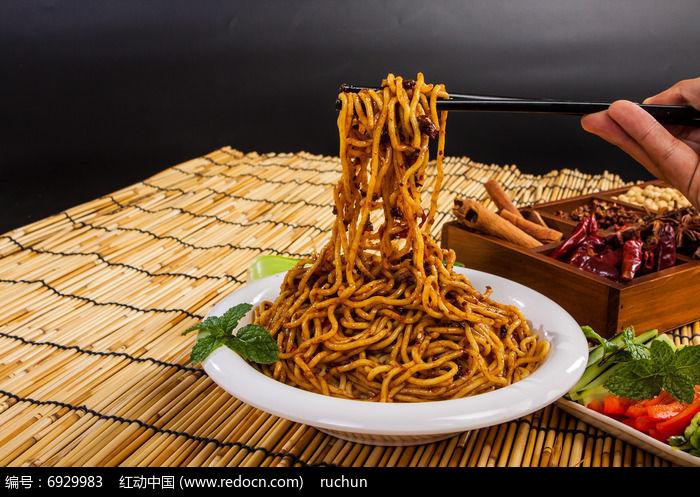 重庆筷夹油辣子面
