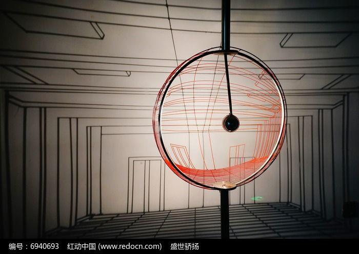 创意灯投影图片
