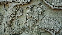 典故人物石雕